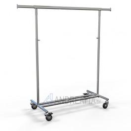 503/80 Stender portaconfezioni 100cm pieghevole, regolabile in altezza