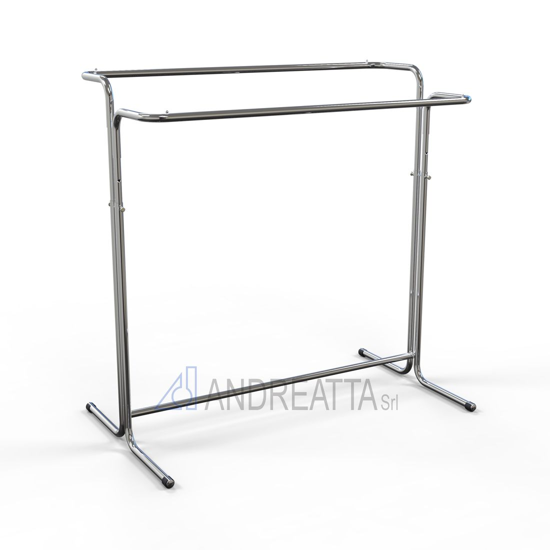 Double Garment rail Adjustable in height