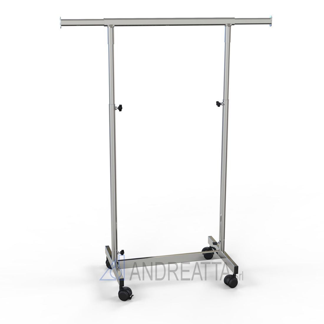 Small Garment rail Adjustable in height